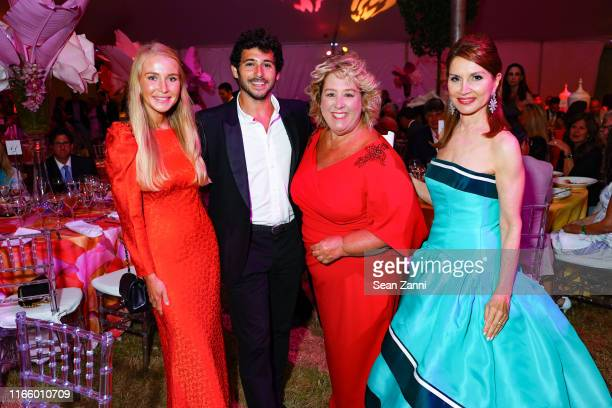 Martyna Sokol Jesse Warren Rebecca Seawright and Jean Shafiroff attend the Annual Summer Party Benefiting Stony Brook Southampton Hospital on August...