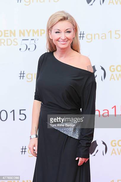 Martyna Wojciechowska attends the 55th Monte Carlo TV Festival Closing Ceremony and Golden Nymph Awards at the Grimaldi Forum on June 18 2015 in...