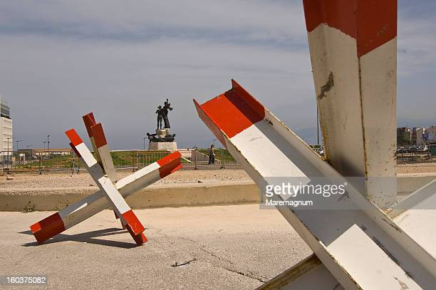 martyr square (the hearth of the town before war) - beirut stock pictures, royalty-free photos & images