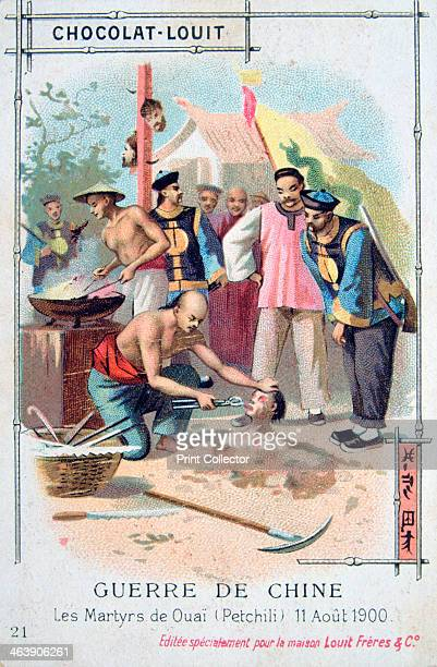 Martyrdom at Ouai China Boxer Rebellion 11 August 1900 The Boxer Uprising or Boxer Rebellion was a Chinese rebellion from November 1899 to September...