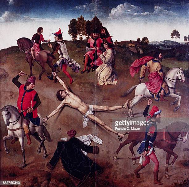 Martyrdom of Saint Hippolytus : Martyrdom of Saint Hippolytus [central panel]