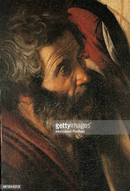 Martyrdom of Saint Matthew by Michelangelo Merisi also known as Caravaggio 1599 1600 16th Century oil on canvas 323 x 343 cm Italy Lazio Rome Church...