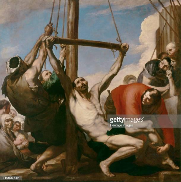 Martyrdom of Saint Philip, 1639. Found in the Collection of Museo del Prado, Madrid. Artist Ribera, José, de .