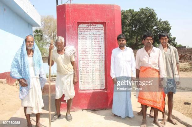 Martyrs Memorial of Laxmanpur Bathe Massacre ot Bantan Tola