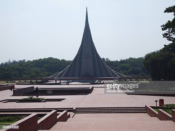 martyrs monument - savar stock pictures, royalty-free photos & images