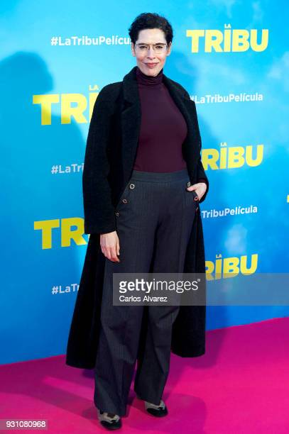 Maru Valdivieso attends 'La Tribu' premiere at the Capitol cinema on March 12 2018 in Madrid Spain