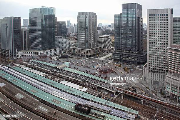 Marunouchi & back of Tokyo Station