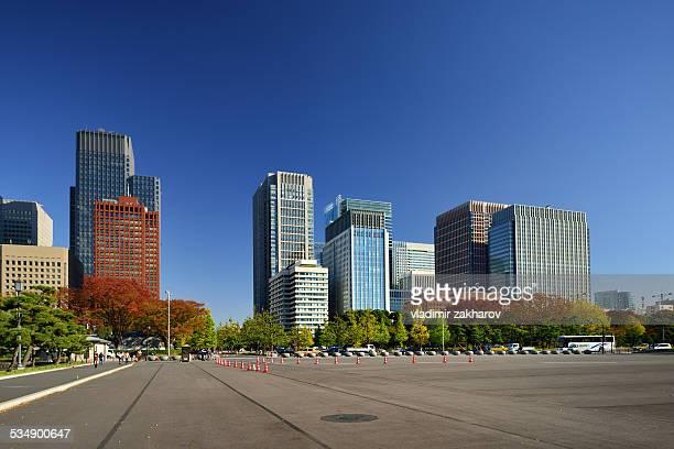 Marunouchi cityscape view