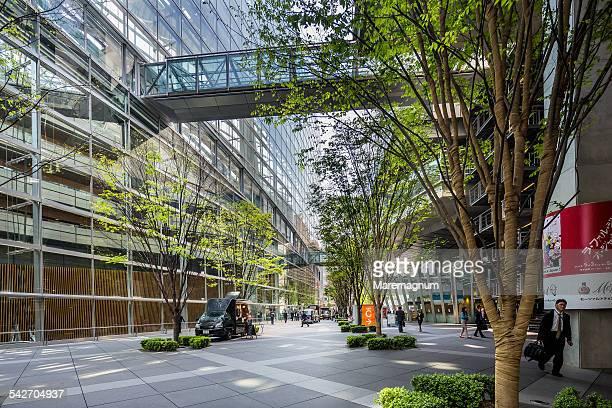 Marunouchi, exterior of Tokyo International Forum