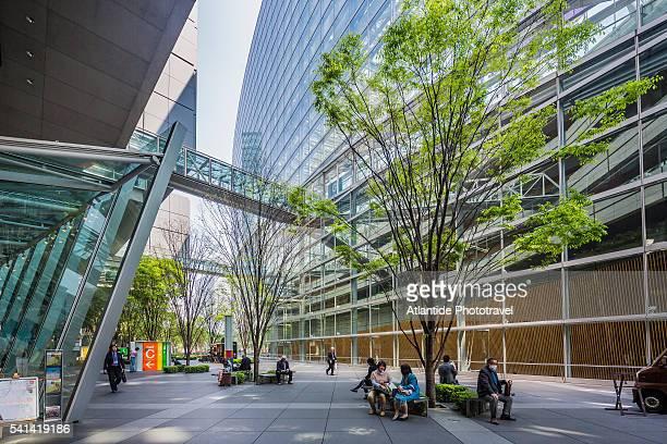 Marunouchi, Tokyo International Forum, the exterior