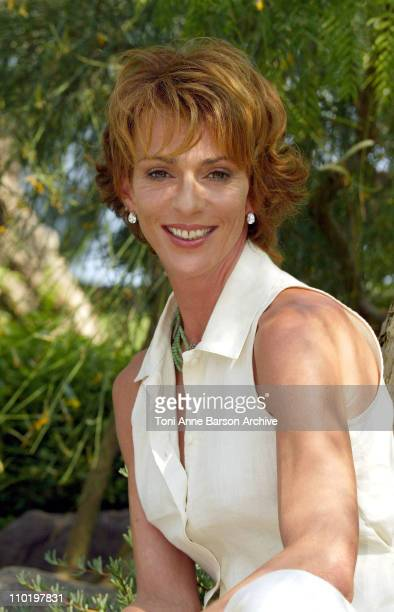 Maruschka Detmers during 44th Monte Carlo Television Festival Maruschka Detmers Photocall at Japanese Gardens in Monte Carlo Monaco