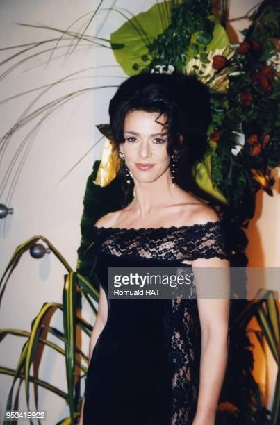 Maruschka Detmers lors de la soirée 'The Best' 1998 le 7 décembre 1998 à Paris France