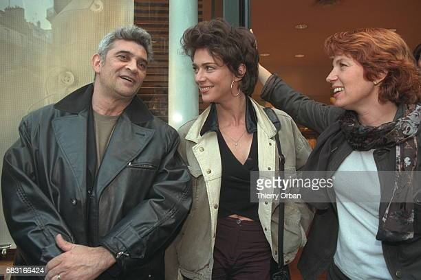 Maruschka Detmers with Véronique and her husband