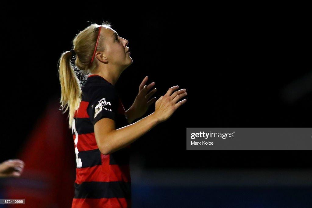 W-League Rd 3 - Western Sydney v Brisbane : News Photo