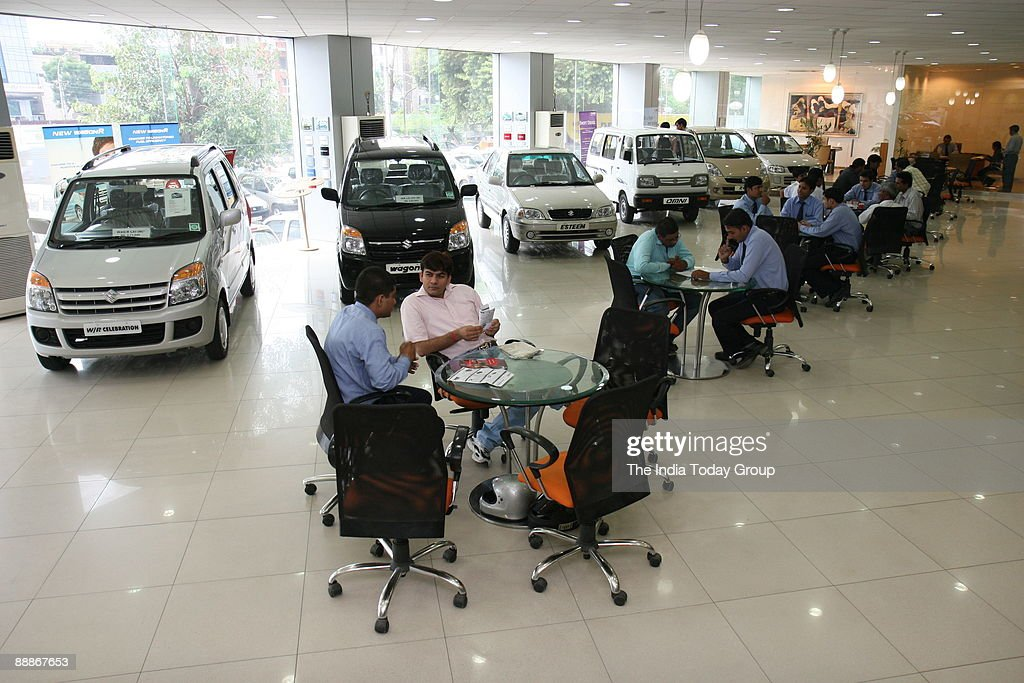 Maruti Suzuki Car Showroom In Delhi India Pictures Getty Images