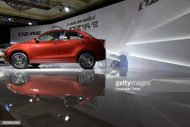 Maruti Suzuki launches the new Dzire in the Indian market on May 16 2017 in New Delhi India The newgen Maruti Suzuki Dzire is built on the company's...