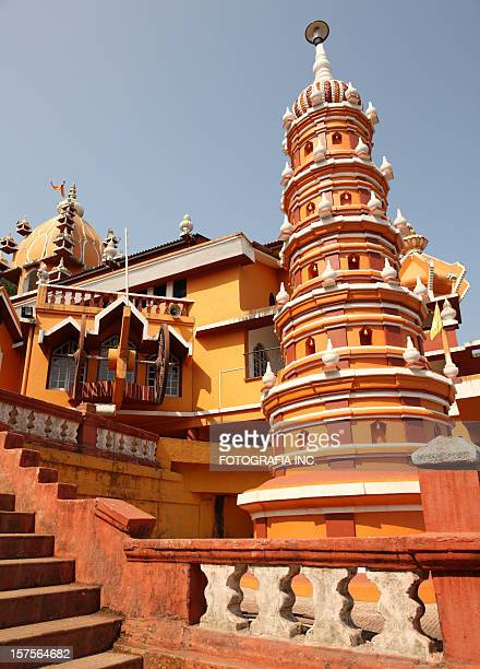 maruti temple in panjim, goa - panjim stock photos and pictures