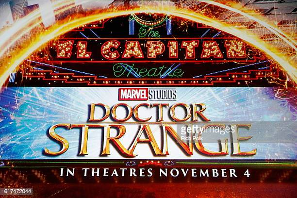 Marvel fan families and kids attend a special screening of Marvel Studios' DOCTOR STRANGE in 3D hosted by Stan Lee at the El Capitan Theatre on...
