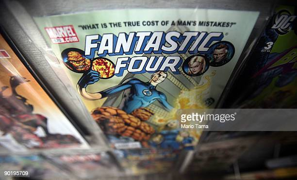 Marvel Fantastic Four comic book is seen for sale at St Mark's Comics August 31 2009 in New York City The Walt Disney Co announced that it plans to...