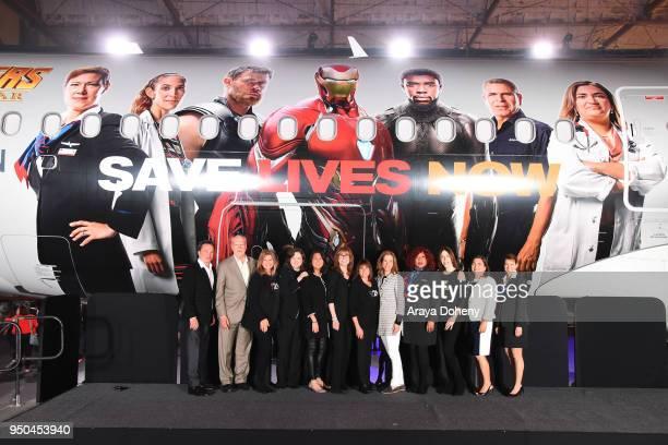 Marvel Studios CoPresident Louis D'Esposito Dr Phillip A Sharp CFA cofounder Lisa Paulsen CFA CEO and President Sung Poblete CFA cofounders Rusty...