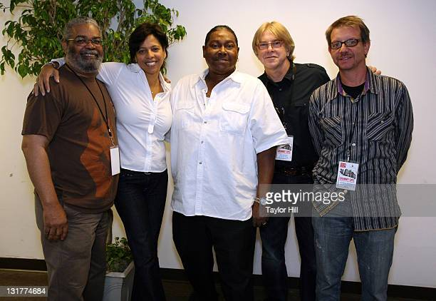 Marvell Thomas Angelia BibbsSanders Skip Pitts John Hornyak and and Jonathan McHugh attend the GRAMMY GPS panel discussions at Playhouse on the...
