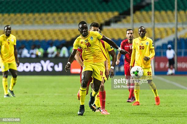 Marvellous Nakamba of Zimbabwe during the African Nations Cup match between Zimbabwe and Tunisia on January 23 2017 in Libreville Gabon