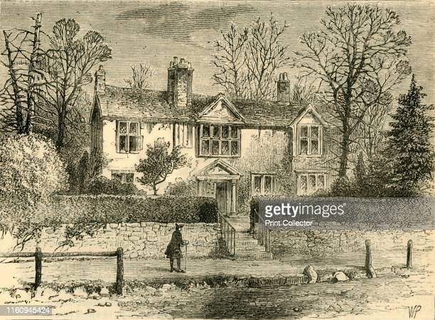 Marvell's House 1825' The Elizabethan cottage of Andrew Marvell on Highgate Hill was demolished in 1867 From Old and New London A Narrative of Its...