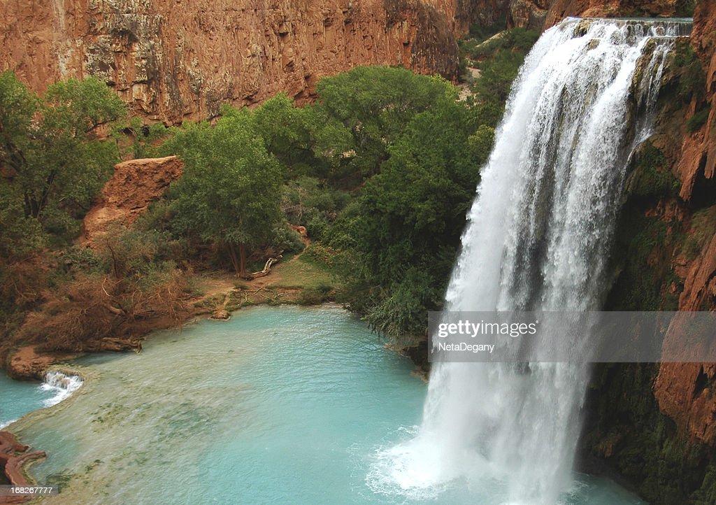 Marvelous Havasu Fall, Arizona : Stock Photo