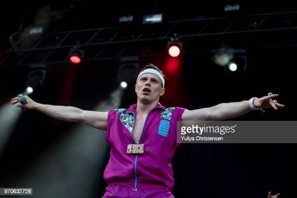 Marvelous Mosell performs onstage at the Northside Festival on June 9 2018 in Aarhus Denmark