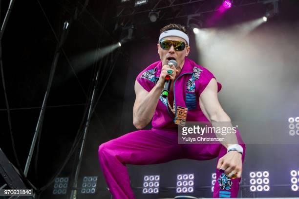 Marvelous Mossell performs onstage at the Northside Festival on June 9 2018 in Aarhus Denmark
