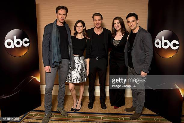TOUR 2015 Marvel's Agent Carter The cast and executive producers of Marvel's Agent Carter at Disney | ABC Television Group's Winter Press Tour 2015