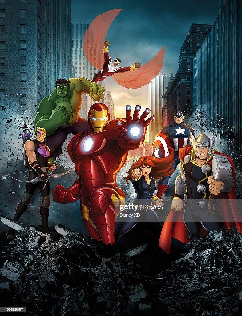"Disney XD's ""Avengers Assemble"" - Season One : News Photo"