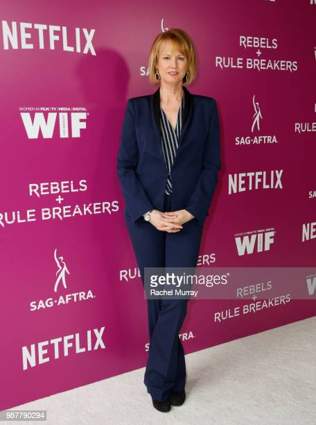 Marvel's Jessica Jones Creator Melissa Rosenberg attends the Rebels and Rule Breakers Panel at Netflix FYSEE at Raleigh Studios on May 12 2018 in Los...
