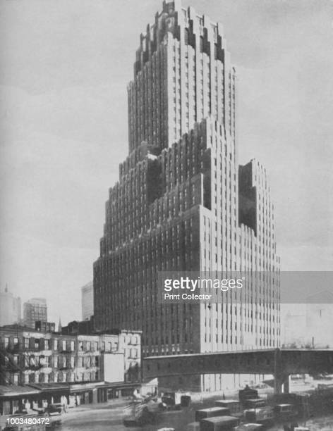 Marvels of Ancient Babylon Outclassed in Modern New York', circa 1935. From Our Wonderful World, Volume I, edited by J.A. Hammerton. [The Amalgamated...