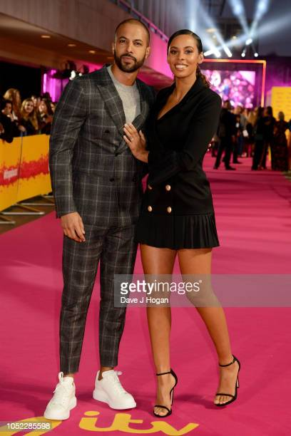 Marvin and Rochelle Humes attend the ITV Palooza held at The Royal Festival Hall on October 16 2018 in London England