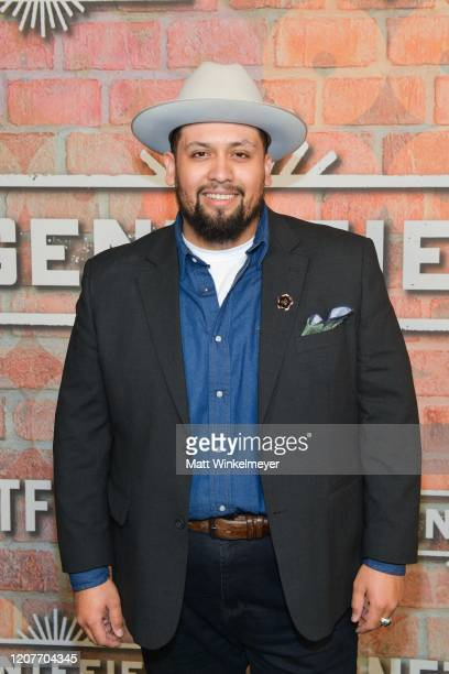 Marvin Bryan Lemus attends the premiere of Netflix's Gentefied at Plaza de la Raza on February 20 2020 in Los Angeles California