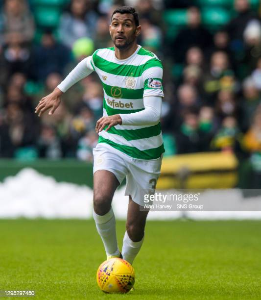 Marvin Compper in action for Celtic