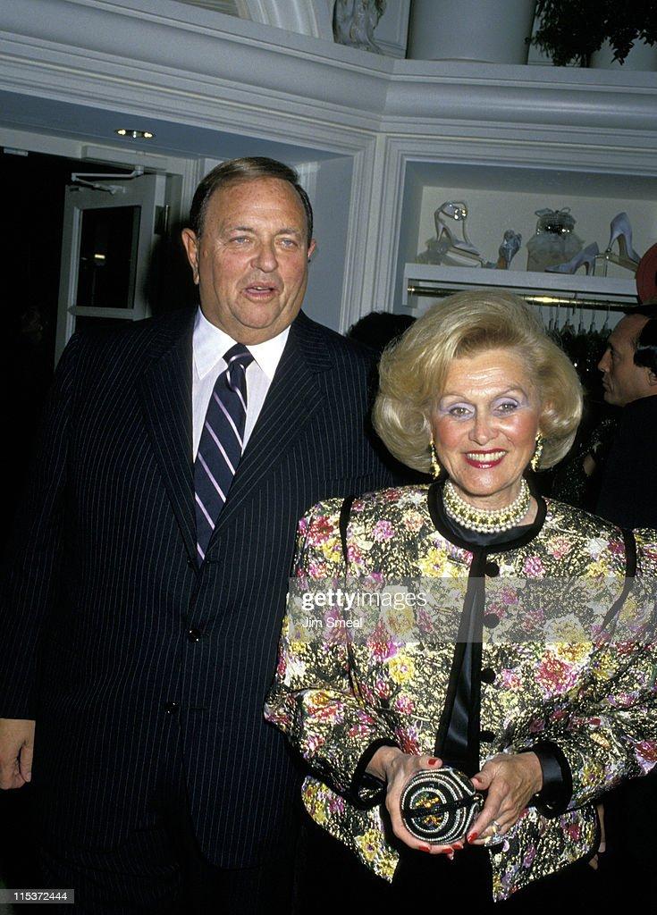 Marvin Davis and Barbara Davis at Giorgio's - September 15, 1988