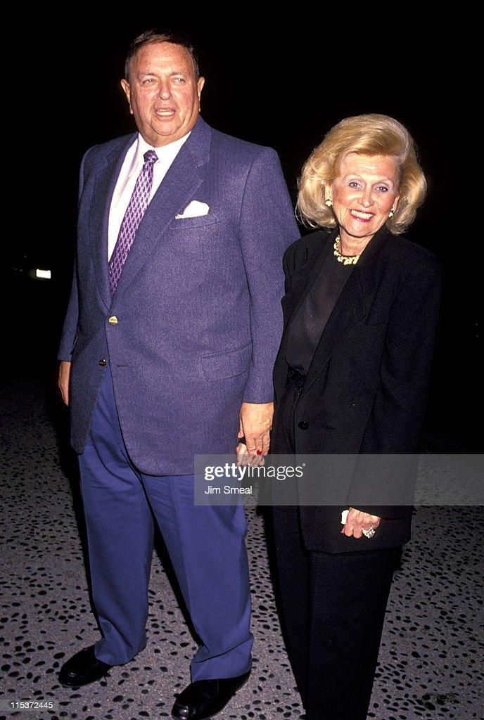 Marvin Davis and Barbara Davis at Spago's - April 4, 1991