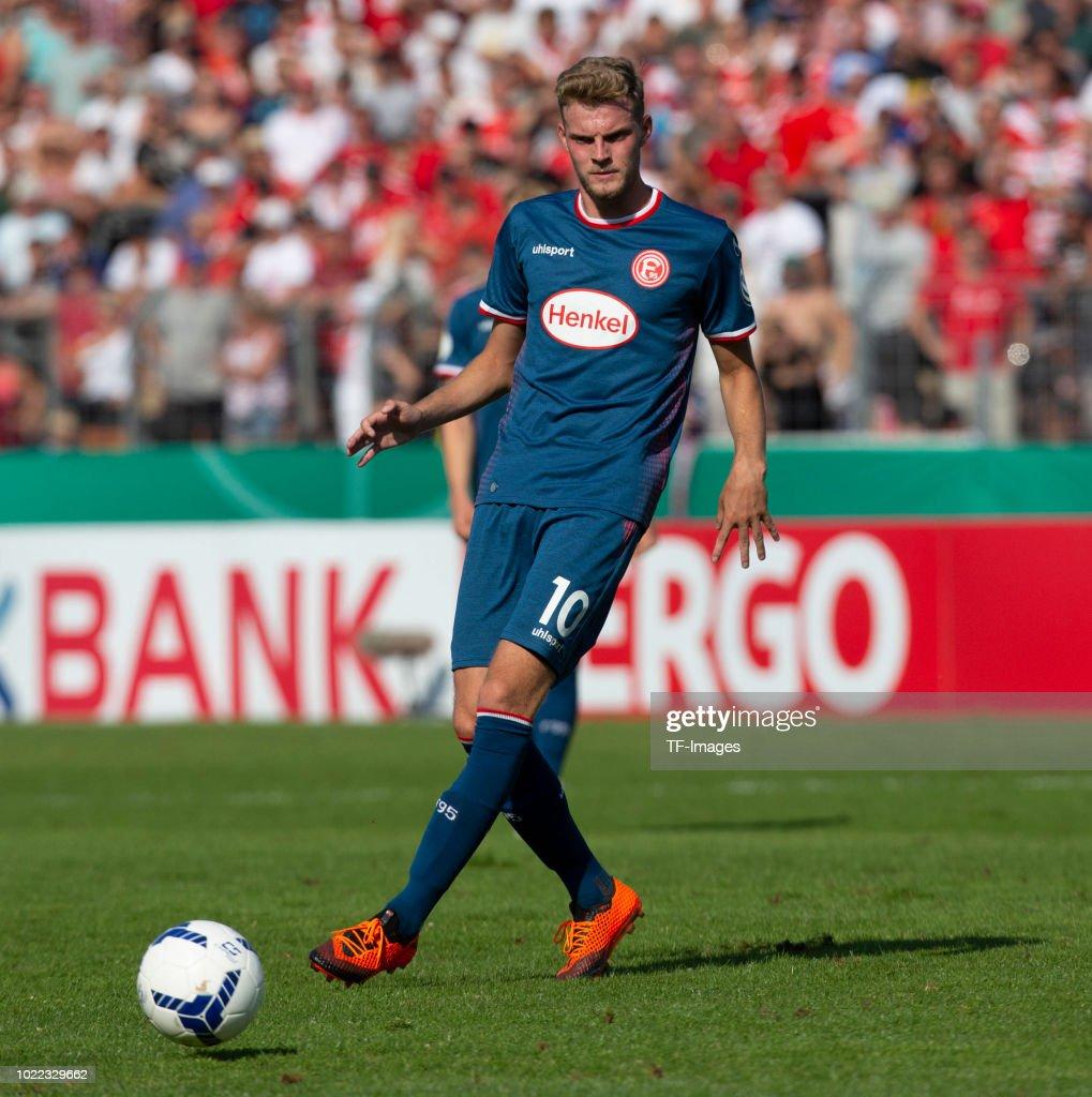 TuS RW Koblenz v Fortuna Duesseldorf - DFB-Cup : News Photo