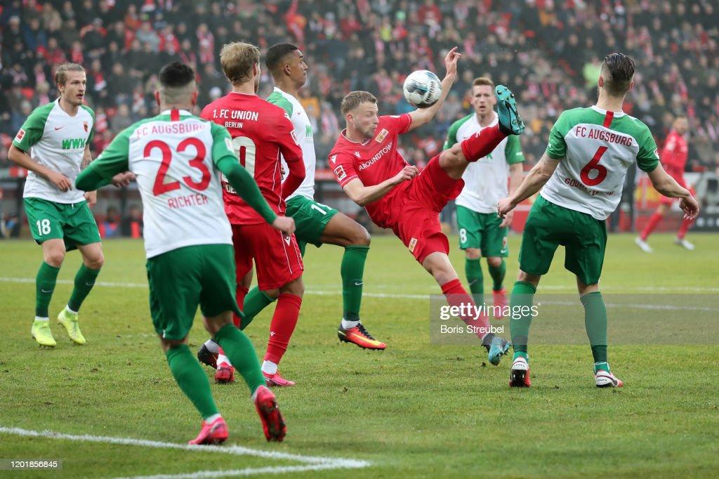 1. FC Union Berlin v FC Augsburg - Bundesliga : ニュース写真
