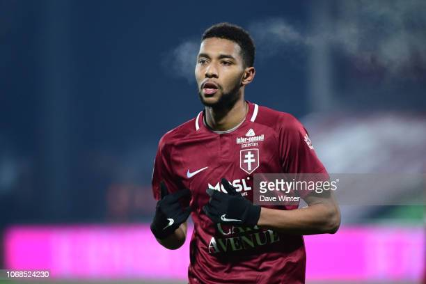 Marvin Gakpa of Metz during the Ligue 2 match between FC Metz and Red Star FC on December 4 2018 in Metz France