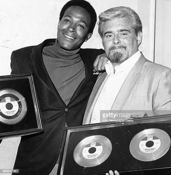 Marvin Gaye and Barney Ales 1961