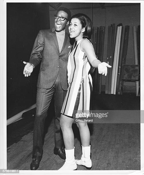 Marvin Gaye and Tammi Terrell portrait United States 1967