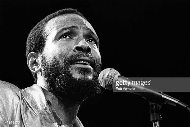 Marvin Gaye performs on stage at De Doelen Rotterdam Netherlands 1st July 1980