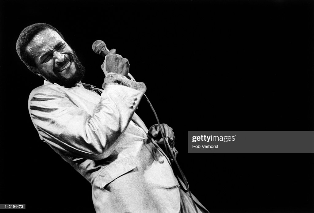 Marvin Gaye Performs In Rotterdam : News Photo