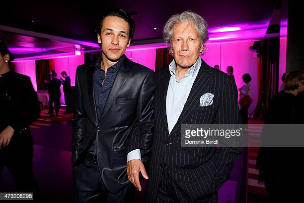 Marvin Herzsprung and Bernd Herzsprung during the Genlemen Style Night at Hotel Vier Jahreszeiten on May 13 2015 in Munich Germany