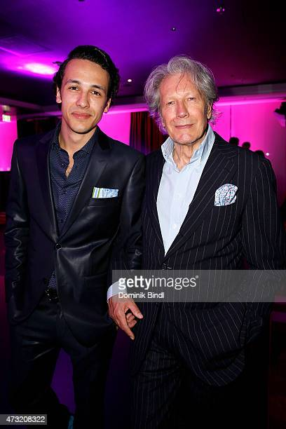 Marvin Herzsprung and Bernd Herzsprung during the Genlemen Style Night at Hotel Vier Jahreszeiten on May 13, 2015 in Munich, Germany.