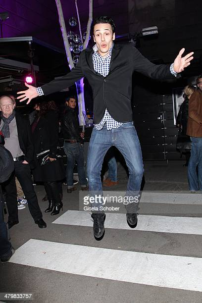 Marvin Herzsprung attends the 30 year anniversary celebration of the club P1 on March 20, 2014 in Munich, Germany.