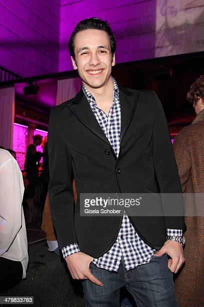 Marvin Herzsprung attends the 30 year anniversary celebration of the club P1 on March 20 2014 in Munich Germany